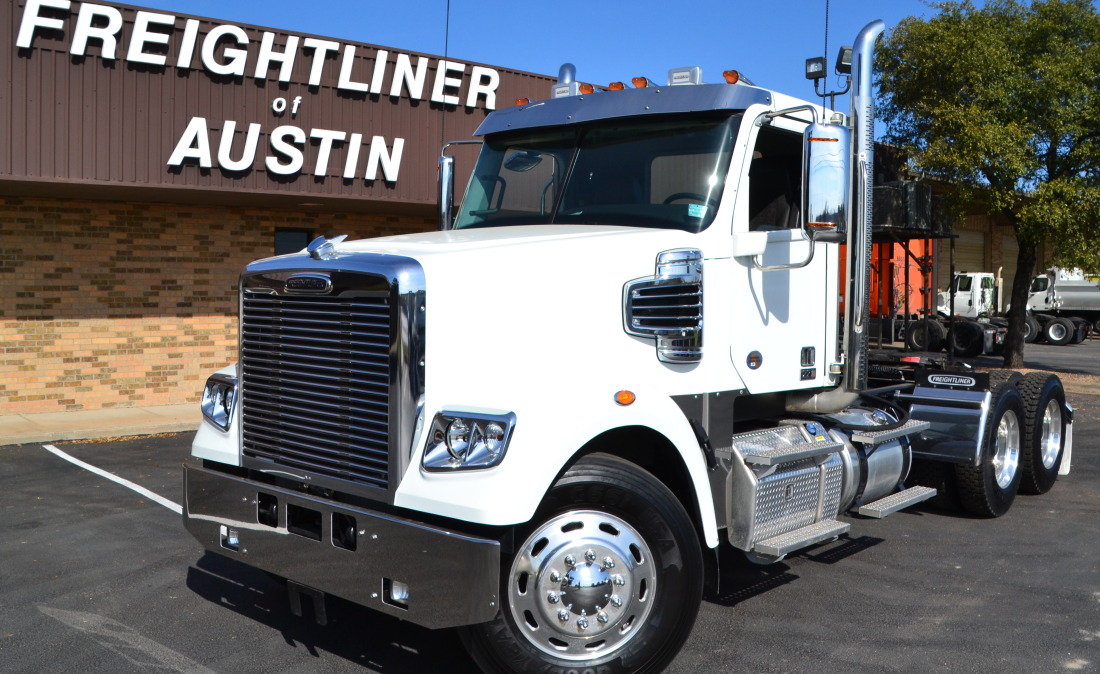 Used Work Vans >> 2019 122SD Day Cab Tractor | Freightliner of Austin